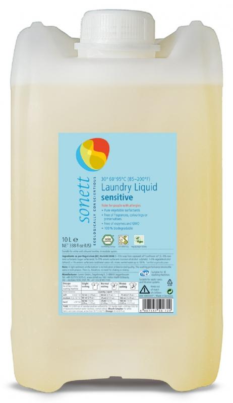 SONETT Prací gel - Sensitive 10 l