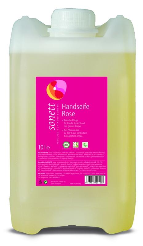 SONETT Tekuté mýdlo na ruce - Růže 10 l