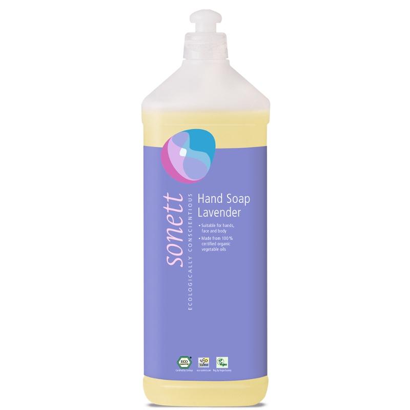 SONETT Tekuté mýdlo na ruce - Levandule1 l