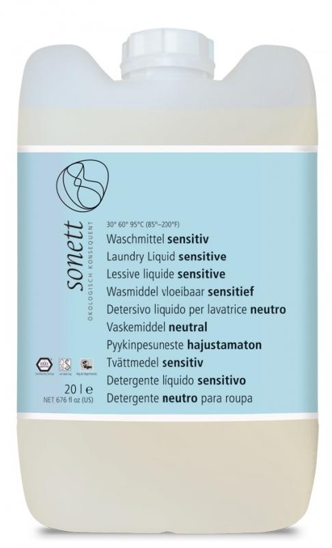 SONETT Prací gel - Sensitive 20 l