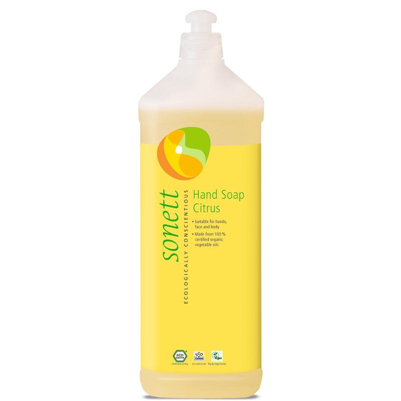 SONETT Tekuté mýdlo na ruce - Citrus 1 l