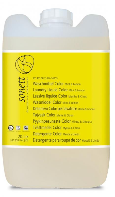 SONETT Prací gel na barevné prádlo 20 l