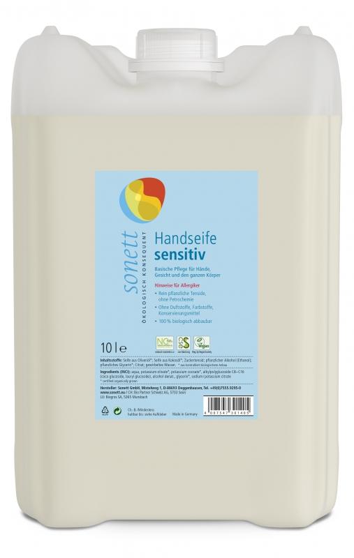 SONETT Tekuté mýdlo na ruce - Sensitive 10 l
