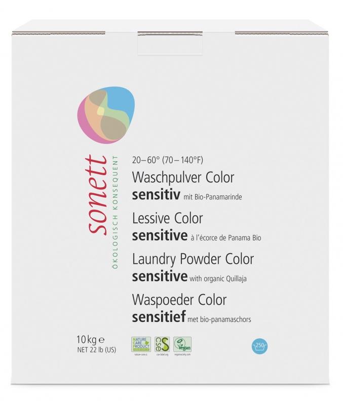 SONETT Prášek na praní COLOR - Sensitive 10 kg