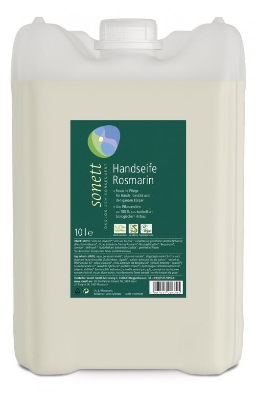 SONETT Tekuté mýdlo na ruce - Rozmarýn 10 l
