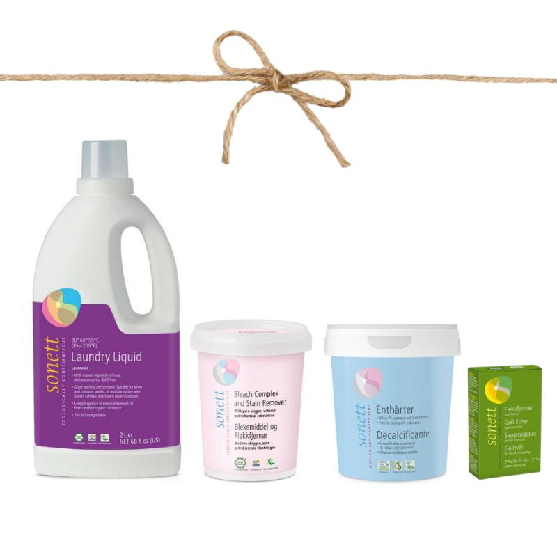Set pro ekologické praní bílého prádla