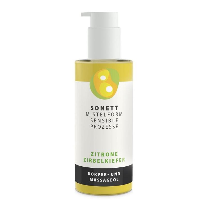 SONETT Tělový a masážní olej - Citron a švýcarská borovice 145 ml