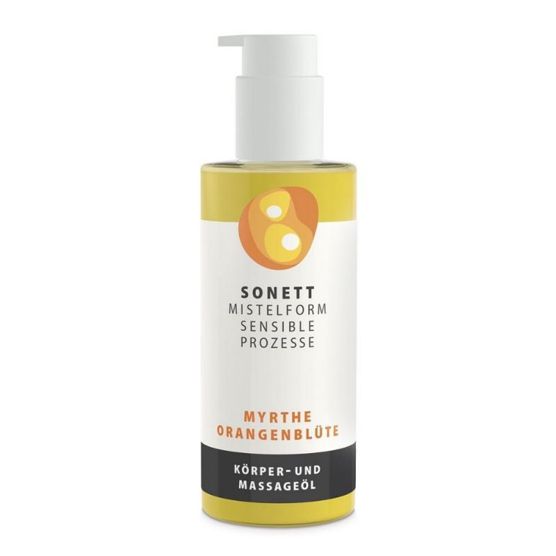 SONETT Tělový a masážní olej - Myrta a pomerančový květ 145 ml