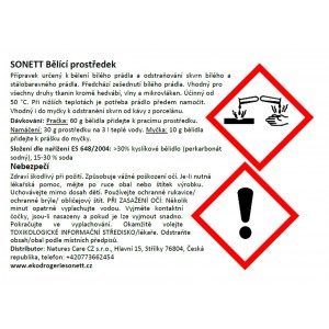 SONETT Bělící prostředek a odstraňovač skvrn 5 kg