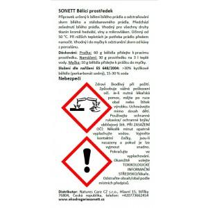SONETT Bělící prostředek a odstraňovač skvrn - vzorek 60 ml