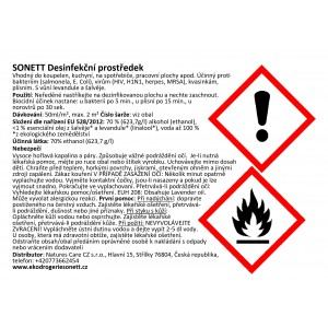 SONETT Desinfekční prostředek ve spreji 100 ml